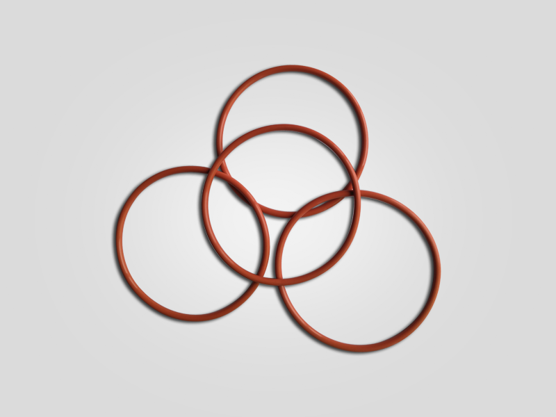 红色O圈Φ78×3.5