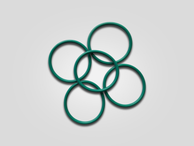The green O ring Φ 39 x 3